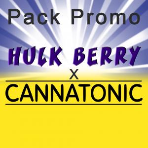 Pack Promo Hulk Berry X Cannatonic