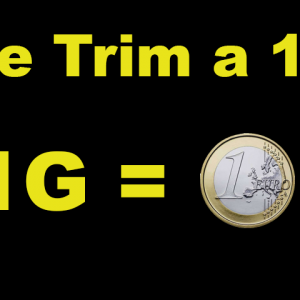 Trim a 1€ CBD