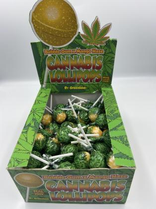 Sucette Cannabis Mango Haze