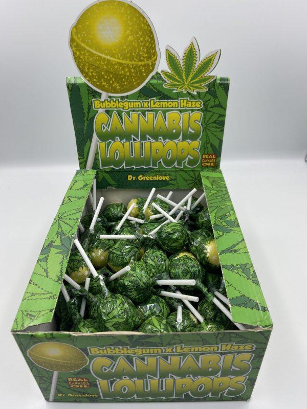 Sucette Cannabis Lemon Haze