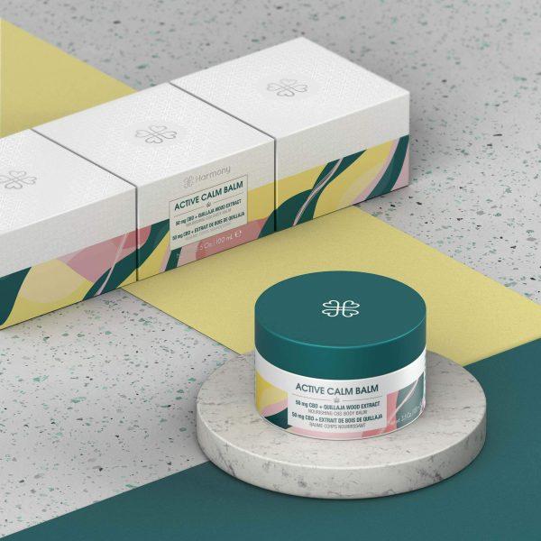 Baume peau séches CBD