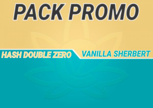 Promo Hash Double Zero Vanilla Sherbert