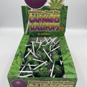 Sucette Cannabis Purple Haze