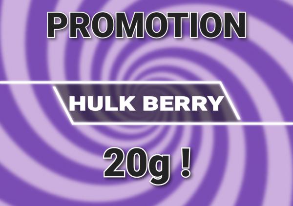 Pack promo hulk berry cbd